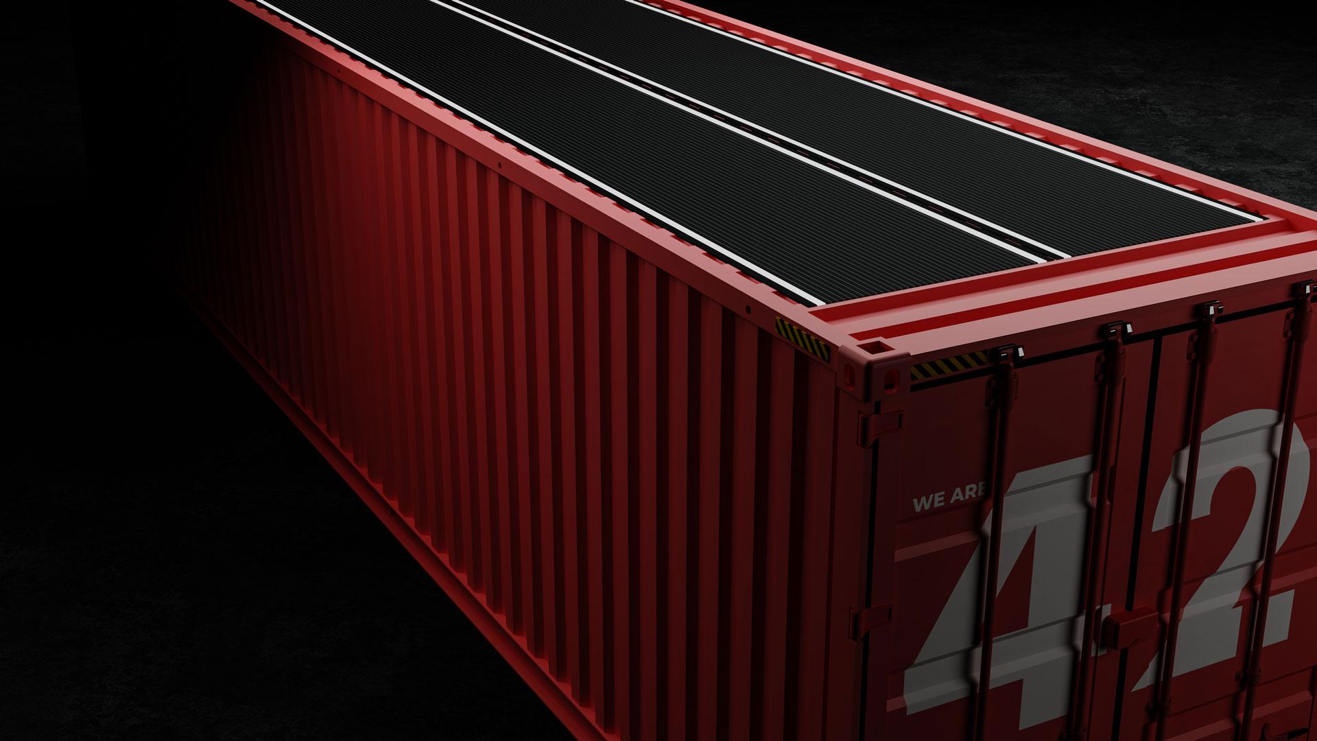 Rotterdam stuurt hyperintelligente container op wereldreis (NL)